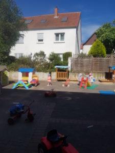 Spiel und Spaß bei schönem Wetter